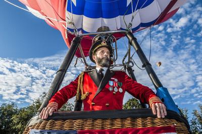 Captain Obvious Takes Flight at Albuquerque International Balloon Fiesta