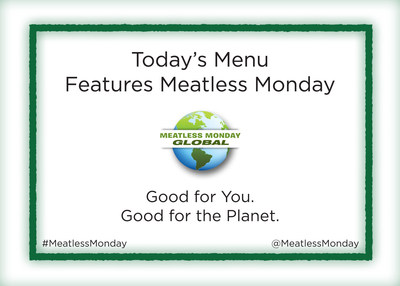 Thought leaders and decision makers will dine on a Meatless Monday menu at the World Health Summit 2016 (WHS) in Berlin, Germany.