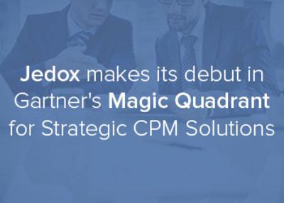 Jedox makes its debut in Gartner's Magic Quadrant for Strategic CPM 2016