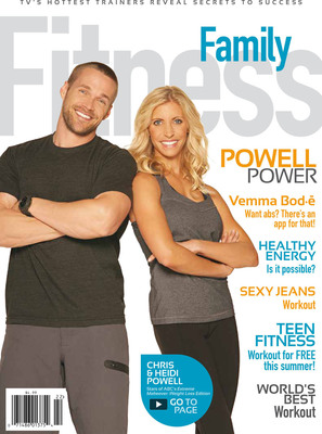 ABC's Extreme Makeover: Weight Loss Edition's Transformation Specialist Chris Powell and Wife, Heidi