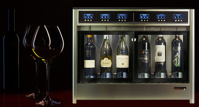 Wineemotion new six-bottles wine dispenser and preservation system.