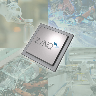 Xilinx accelerates productivity in industrial automation with Zynq(TM)-7000 All Programmable SoCs.  (PRNewsFoto/Xilinx, Inc.)