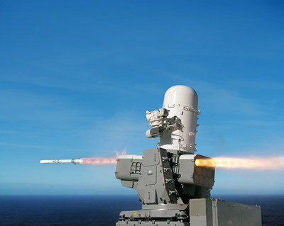 The Raytheon SeaRAM Anti-ship Missile Defense System is a low-risk evolution of the proven Phalanx Block 1B Close-In Weapon System and the Rolling Airframe Missile.