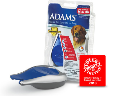 The 2013 Pet Product of the Year* Adams(TM)Smart Shield(R) Applicator.  (PRNewsFoto/Adams Pet Products)