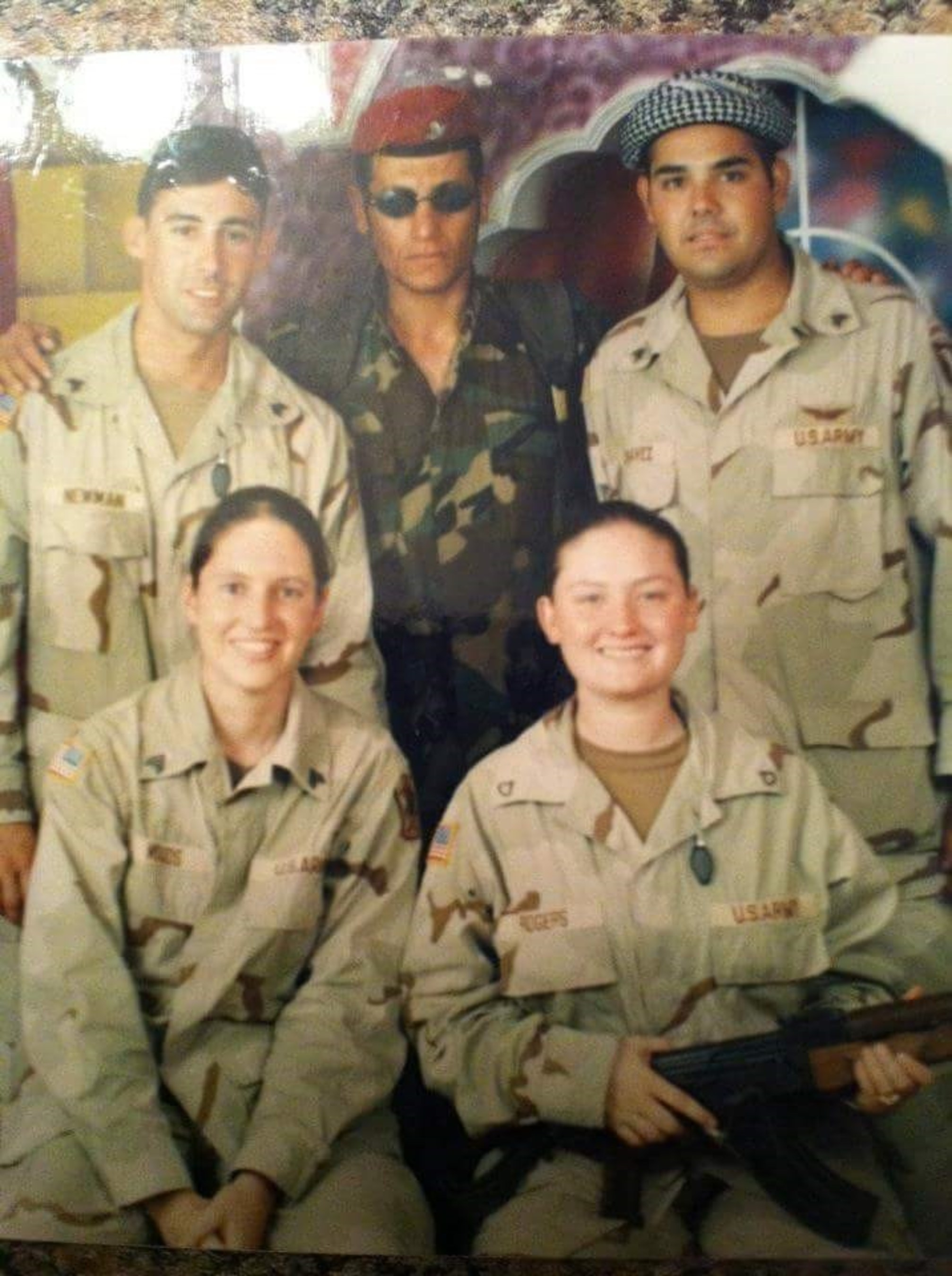 Army veteran Demecia Rogers, bottom right, reached out to Wounded Warrior Project for help with isolation and mental health issues following her medical discharge from military service in 2005.