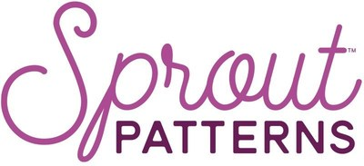 Sprout Patterns is a service that combines independent clothing patterns with Spoonflower designs to create modern cut and sew projects.