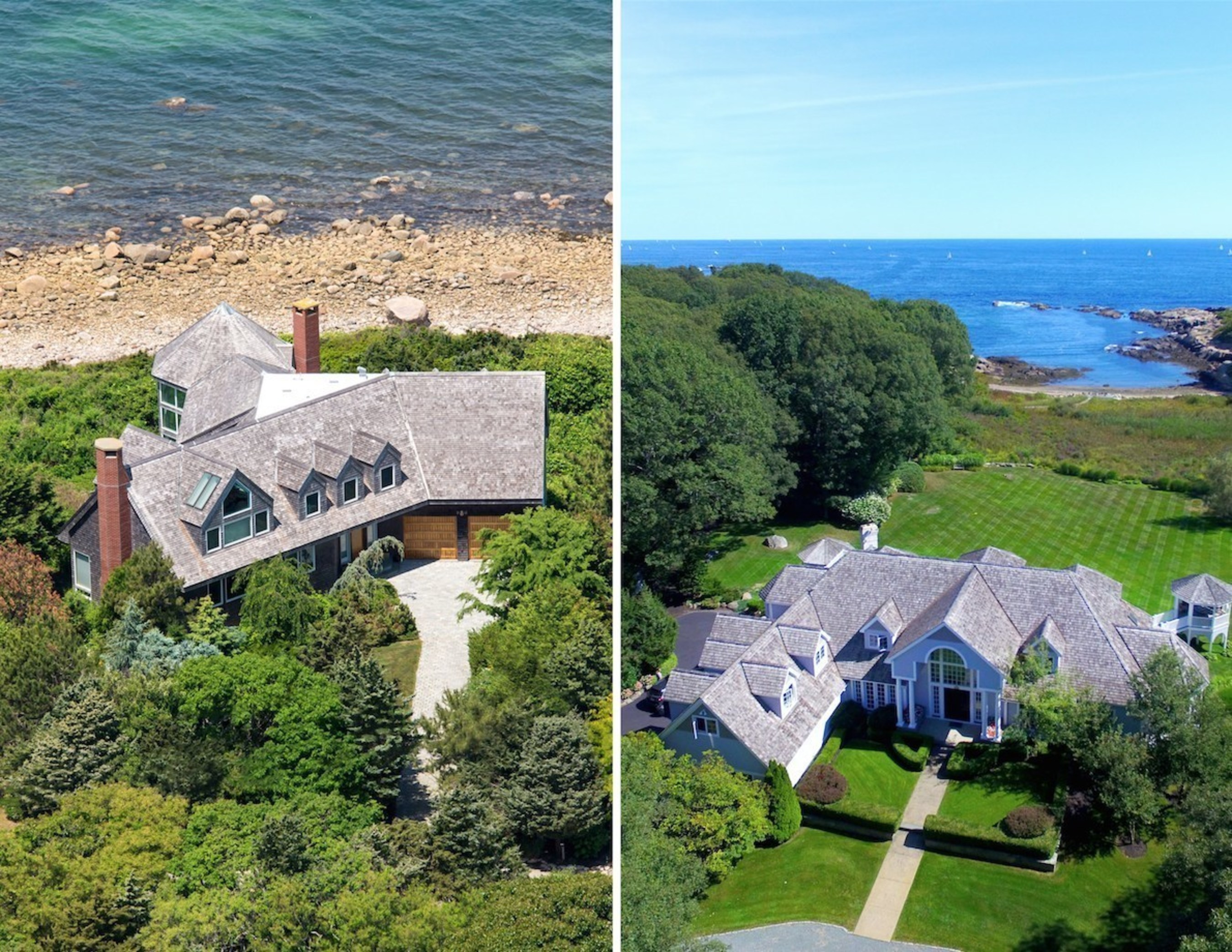 Concierge Auctions Achieves Back-To-Back Success In New England With The Auction Of Two Luxury Seaside Estates