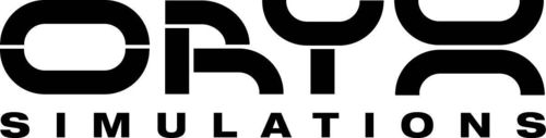 hitachi construction logo. oryx simulations logo hitachi construction