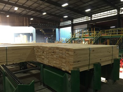 Georgia-Pacific's recent $40 million expansion at its Gurdon, Ark., lumber operations expands production capacity by approximately 60 percent.