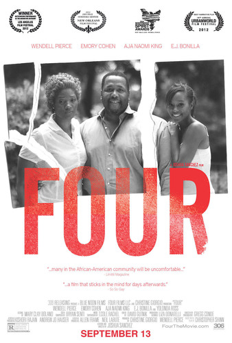 FOUR Alternate Theatrical Poster.  (PRNewsFoto/306 Releasing)