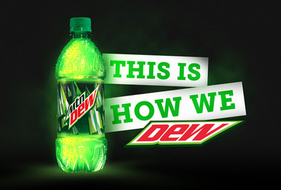 "Mountain Dew's new campaign stars famous members of the Mountain Dew family and introduces the ""This is How We DEW"" tagline."