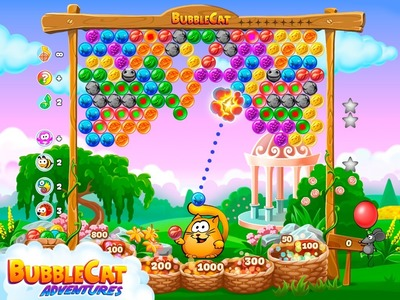 Bubble Cat Adventures celebrates launch on Android devices!