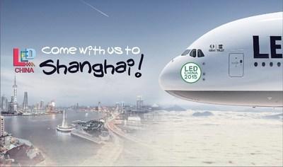 LED CHINA and LED LIGHTING CHINA 2015 Relocates to Shanghai (PRNewsFoto/UBM Trust)