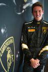 Andrew Palmer at Virginia International Raceway (PRNewsFoto/Automobili Lamborghini)