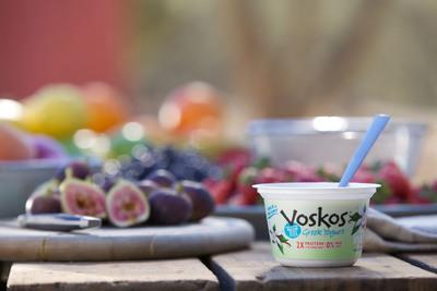 VOSKOS Greek Yogurt Launches First National TV Ad Campaign. (PRNewsFoto/VOSKOS Greek Yogurt) (PRNewsFoto/VOSKOS GREEK YOGURT)