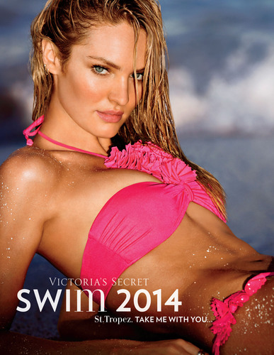 Victoria's Secret Launches Swim 2014 Collection With Angel Candice Swanepoel Appearing On The Cover Catalogue. (PRNewsFoto/Victoria's Secret) (PRNewsFoto/VICTORIA'S SECRET)