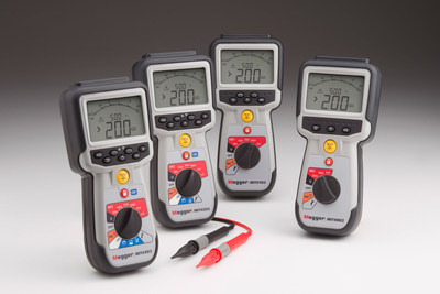 Enhanced Insulation Testers from Megger Offer Variable Test Voltages