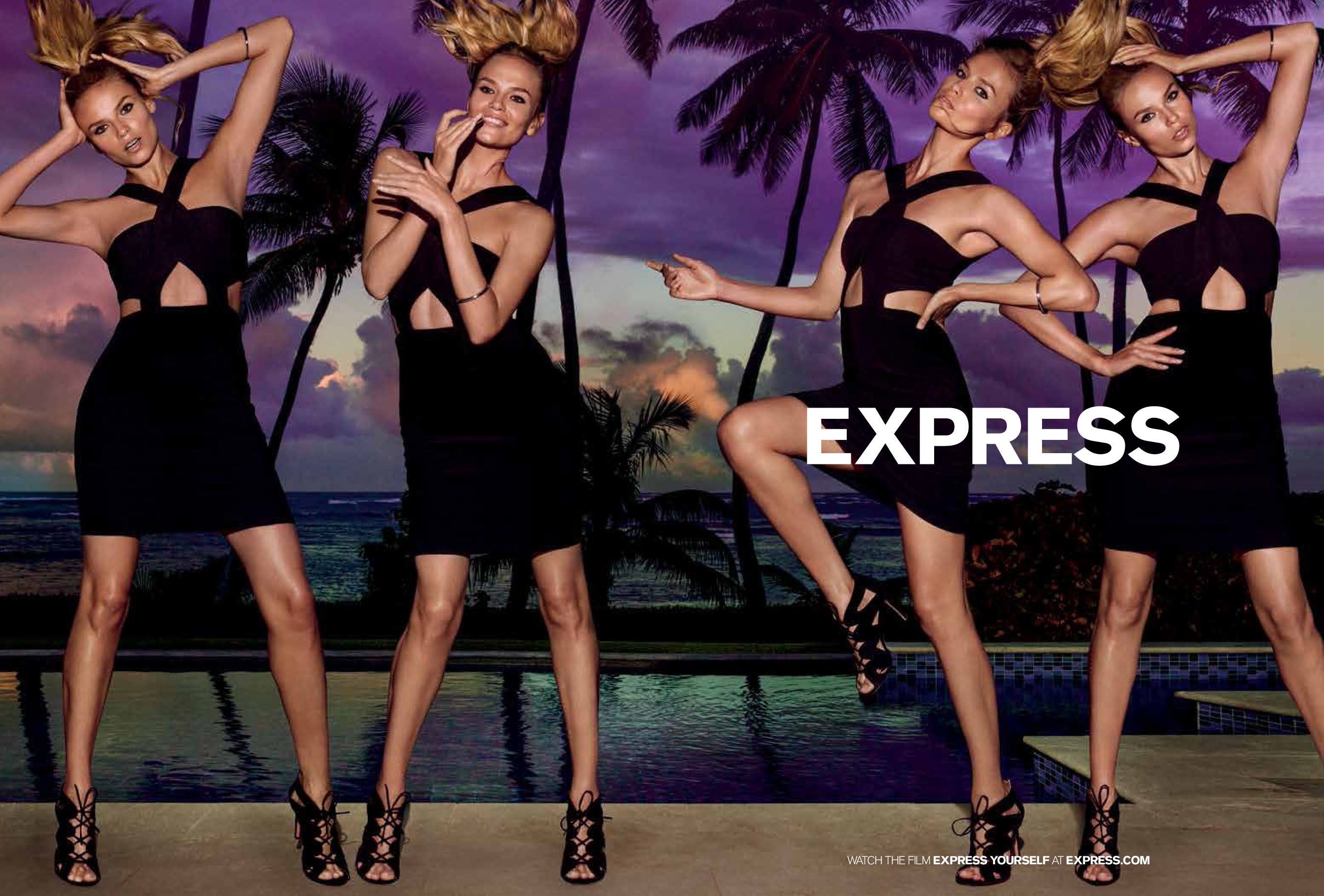"EXPRESS Unveils Spring 2016 ""EXPRESS YOURSELF"" Campaign"