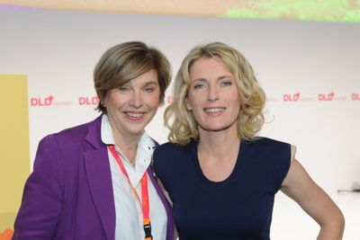 DLDwomen-founder Steffi Czerny and DLDw-chairwoman Maria Furtwängler-Burda (c) Hubert Burda Media