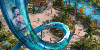 Branson, Missouri's White Water announces new ride for 2014: $1.7 million heart-pounding drop-floor slide KaPau Plummet to be biggest thrill in White Water history.  (PRNewsFoto/Silver Dollar City)