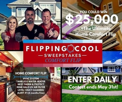 A#1 Air and Discovery's Fast N' Loud TV star Richard Rawlings team up to present the Flippin' Cool Sweepstakes and Garage Flip.