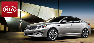 With striking good looks and performance to match, the 2015 Kia Optima retains its spot near the top of its class for the new model year. (PRNewsFoto/Portsmouth Kia)