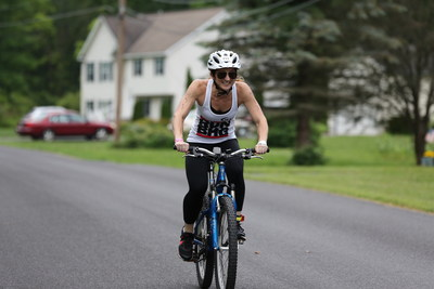 Lisa Austin represents team BHG in the 2015 Gillie Girl Triathlon 14-mile bike race.