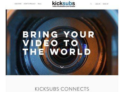 IYUNO Media Group launches a new platform called KickSubs, which crowd-funds video localization for viewers who couldn't previously enjoy the show due to language barriers.