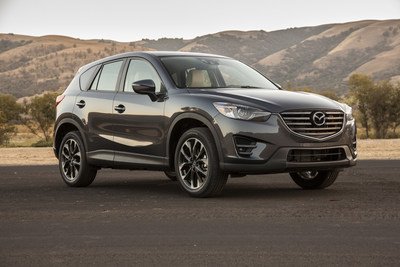 The 2016 Mazda CX-5 Earned The IIHS's Top Crash Prevention Rating.