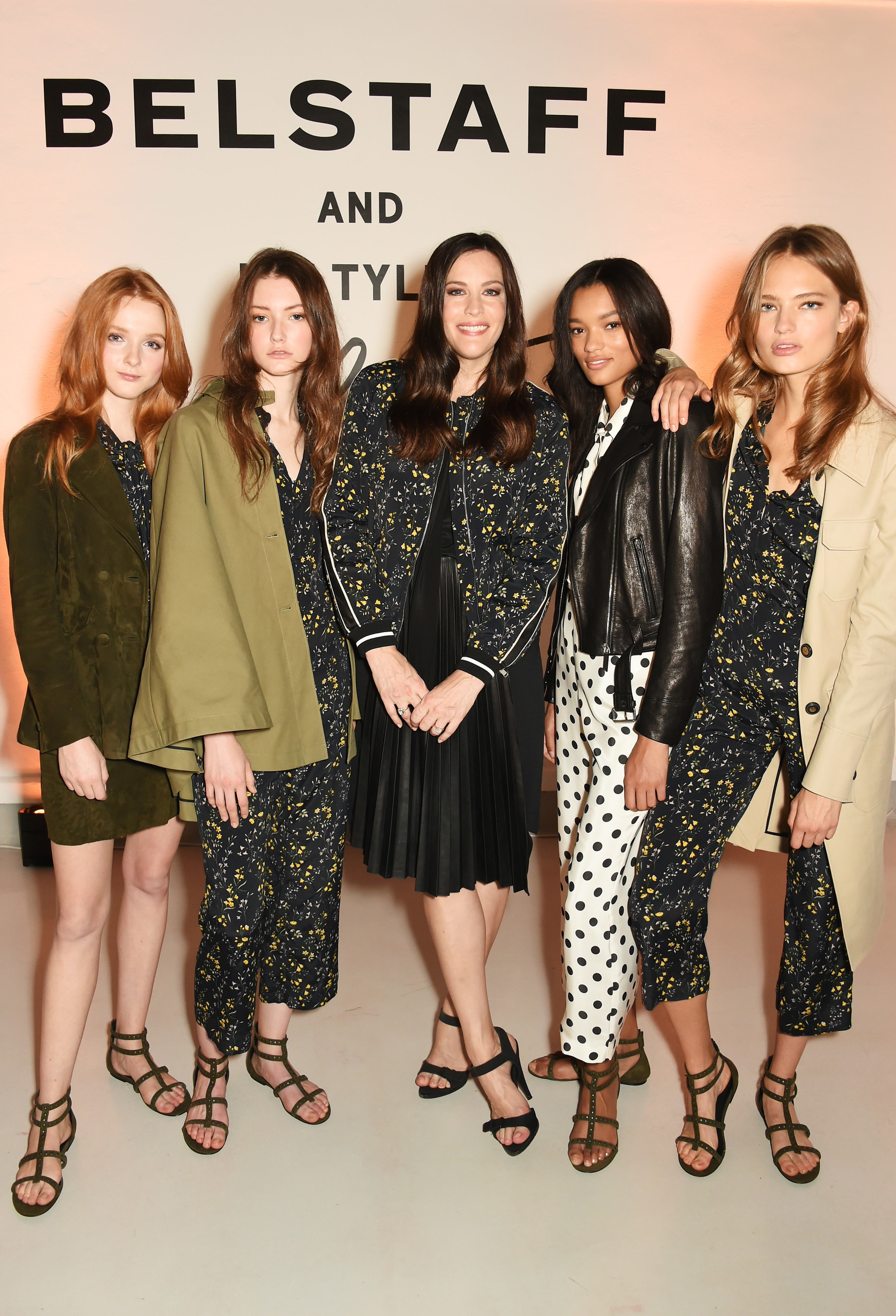 Belstaff and Liv Tyler Celebrate the Launch of Spring Summer 17 at London Fashion Week