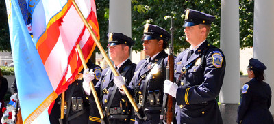 Law Enforcement Officers Killed on 9/11 are Honored During Remembrance Ceremony at National Law Enforcement Officers Memorial in Washington, DC