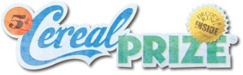 Cereal Prize Logo.  (PRNewsFoto/Cereal Prize)