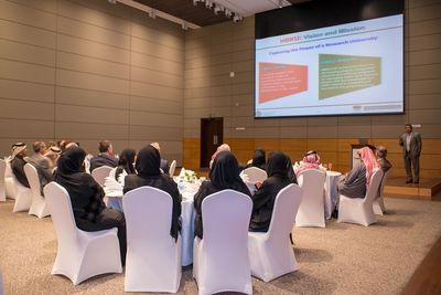 Hamad bin Khalifa University Welcomes the First Admitted Class for the Executive Master in Energy and Resources (PRNewsFoto/Hamad bin Khalifa University)