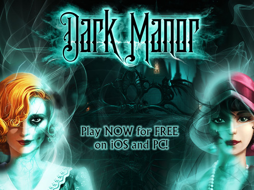 """Dark Manor"" is the most beautifully crafted Hidden Object game to hit casual gamers. It fuses Hidden ..."