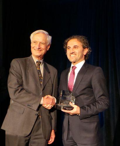 (Left) Professor Robert D Kaplan; (Right) Turkcell Superonline Chief Finance Officer Onder Senol (PRNewsFoto/Turkcell Superonline)