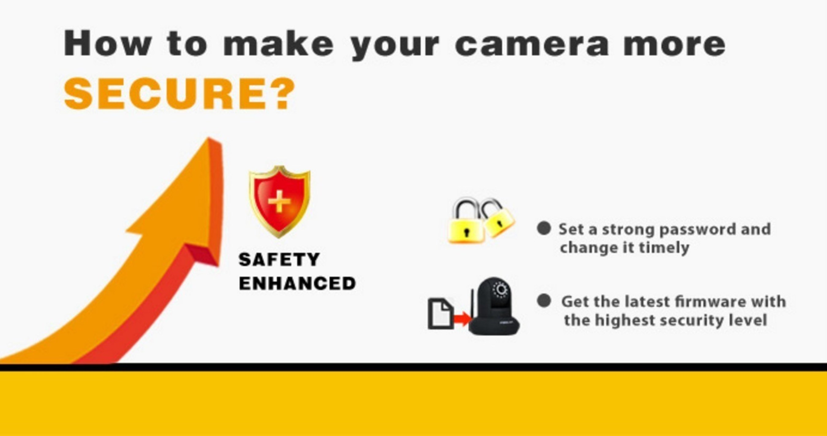 Foscam, a leading high-tech network camera and IP video product solutions company presents five easy steps to secure your IP cameras and privacy. www.foscam.com