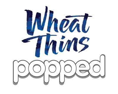 WHEAT THINS Popped logo (PRNewsFoto/Mondelez International)