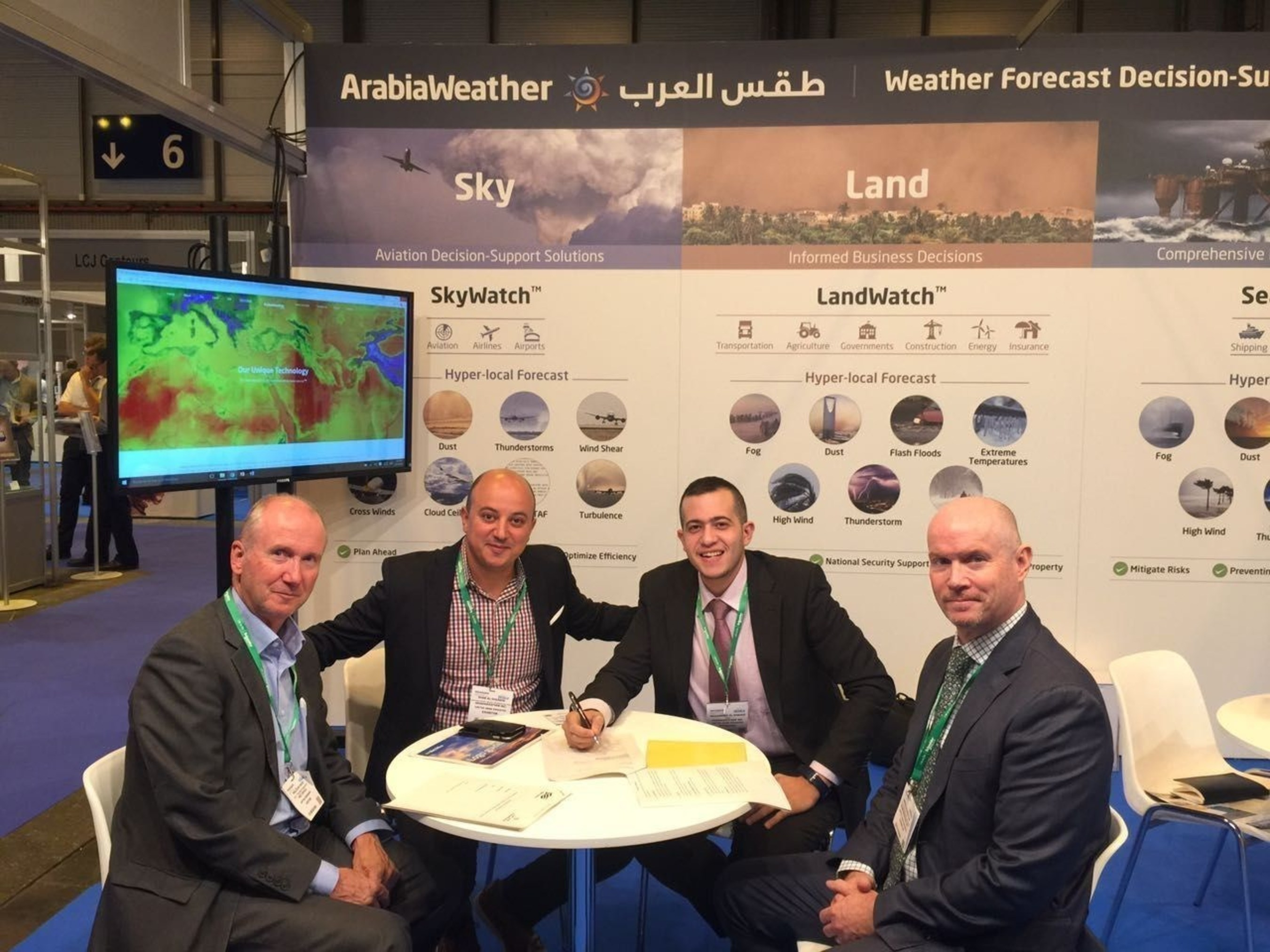 ArabiaWeather Partners with UK Met Office to Offer Weather-Related Training in Middle East and Africa