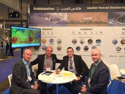 ArabiaWeather Partners with the UK Met Office (PRNewsFoto/ArabiaWeather Inc.)