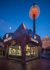 YESCO Lights Up Swarovski at Grand Bazaar Shops in Las Vegas, Nevada