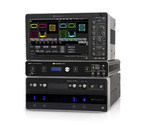 Teledyne LeCroy's IQS42 and IQS70 Coherent Optical Receivers integrate seamlessly with Teledyne LeCroy's LabMaster 10Zi-A series of real-time oscilloscopes to provide up to 65 GHz system bandwidth for optical modulation analysis of dual-polarized signals up to 130 GBaud.