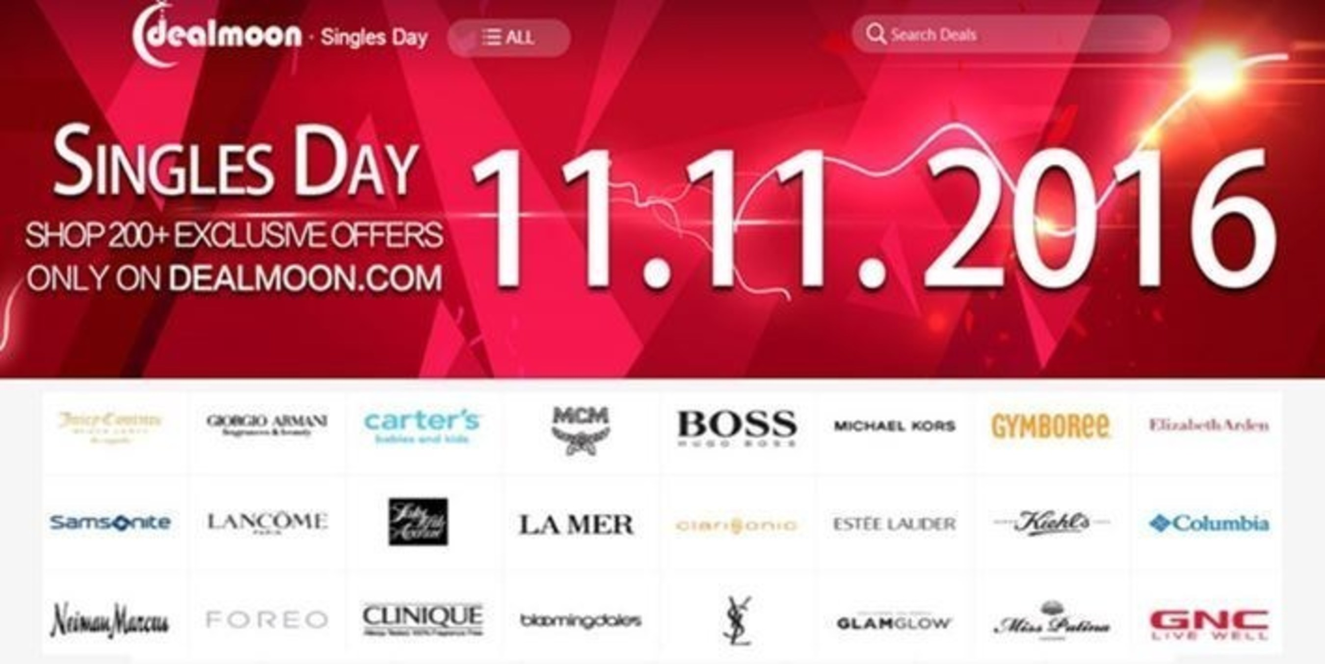 Singles Day on Dealmoon.com