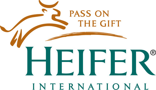 Heifer International Logo.  (PRNewsFoto/Heifer International)