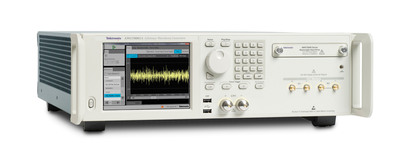 "The Tektronix AWG70000 Series gives design engineers and researchers the ability to create, generate or replicate ideal, distorted or ""real-life"" signals, an essential step in the design and measurement process for defense electronics, high-speed serial, optical networking and advanced research applications.  (PRNewsFoto/Tektronix, Inc)"