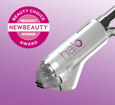 HALO(TM) by SCITON, The World's First Hybrid Fractional Laser, is a NewBeauty Magazine Annual Beauty Choice Awards Winner