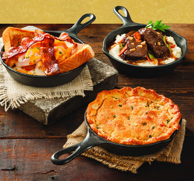 Shoney's(R) Warms up Fall with Southern Skillets Starting at $7.99 For a Limited Time.  (PRNewsFoto/Shoney's)