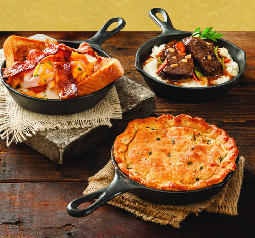 Shoney's(R) Warms up Fall with Southern Skillets Starting at $7.99 For a Limited Time. ...