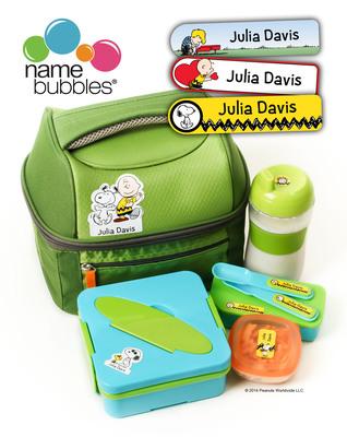 Name Bubbles Peanuts Labels.  (PRNewsFoto/Name Bubbles)