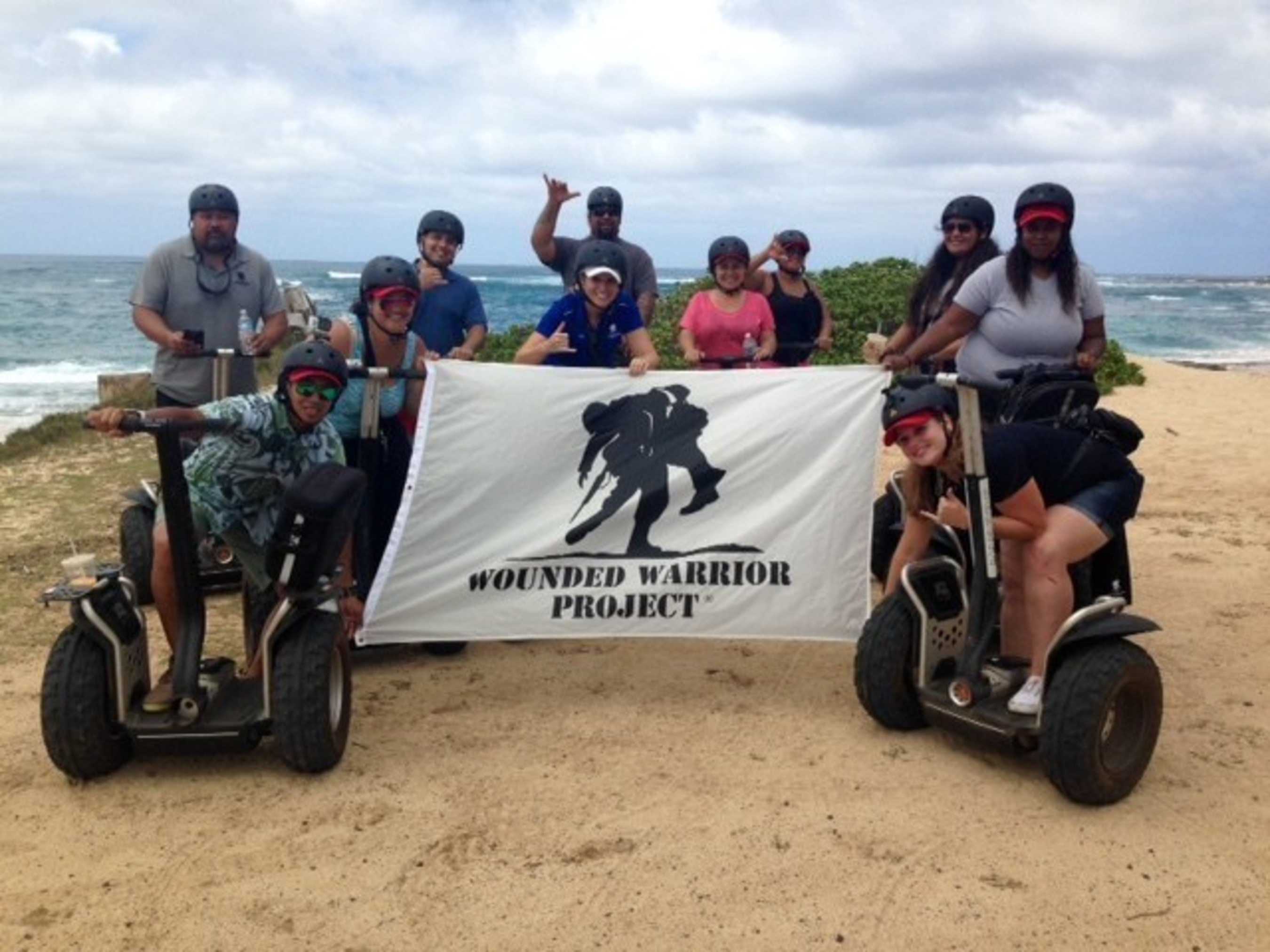 Wounded veterans enjoy tour along the North Shore.