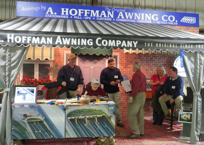 WINS FIRST PLACE AND BEST OF SHOW - 2015 MARYLAND HOME AND GARDEN SHOW.   http://ahoffmanawning.com/category/awards/